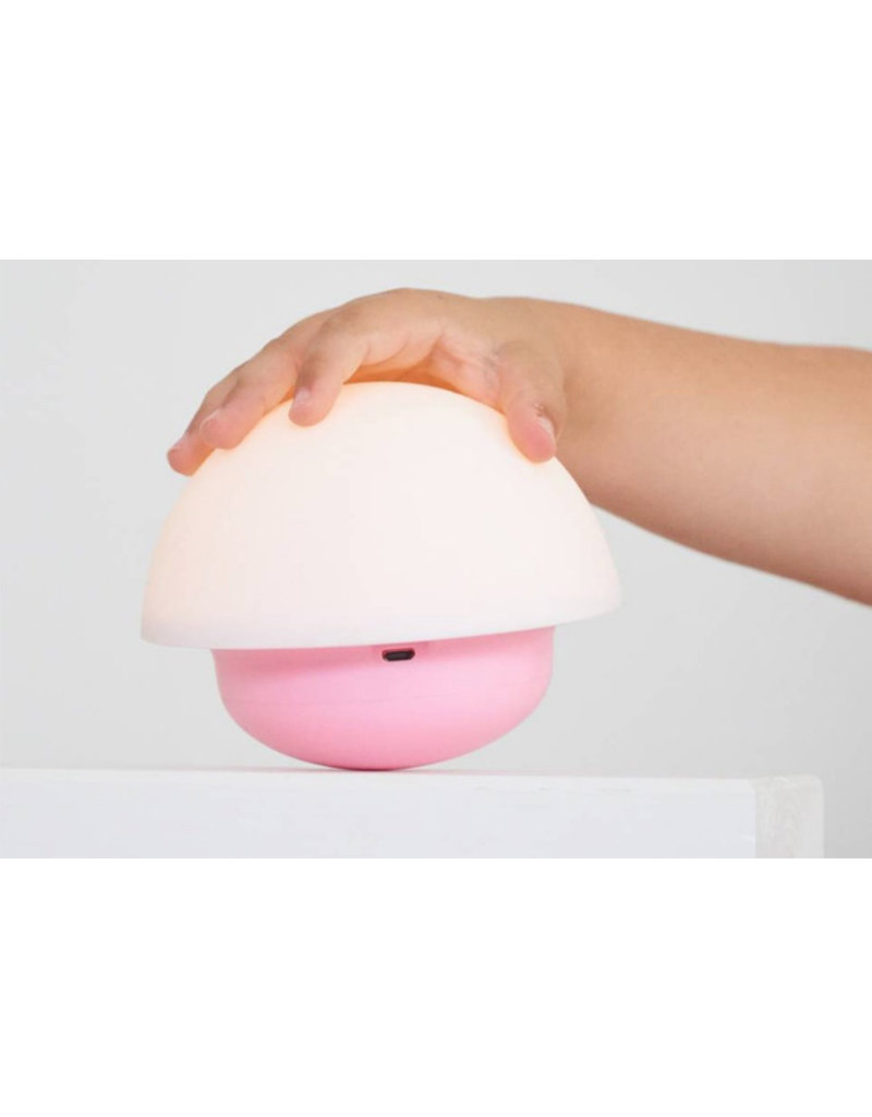 Flow Nachtlampje | Mushroom Nuke | roze