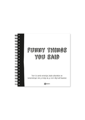 Oh my goody Uitsprakenboekje | Funny things you said