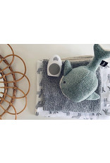 Flow Knuffel met hartslag | Moby de Walvis (groen)