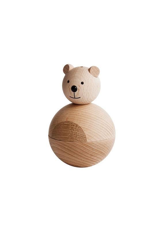 OYOY Wooden bear   natural