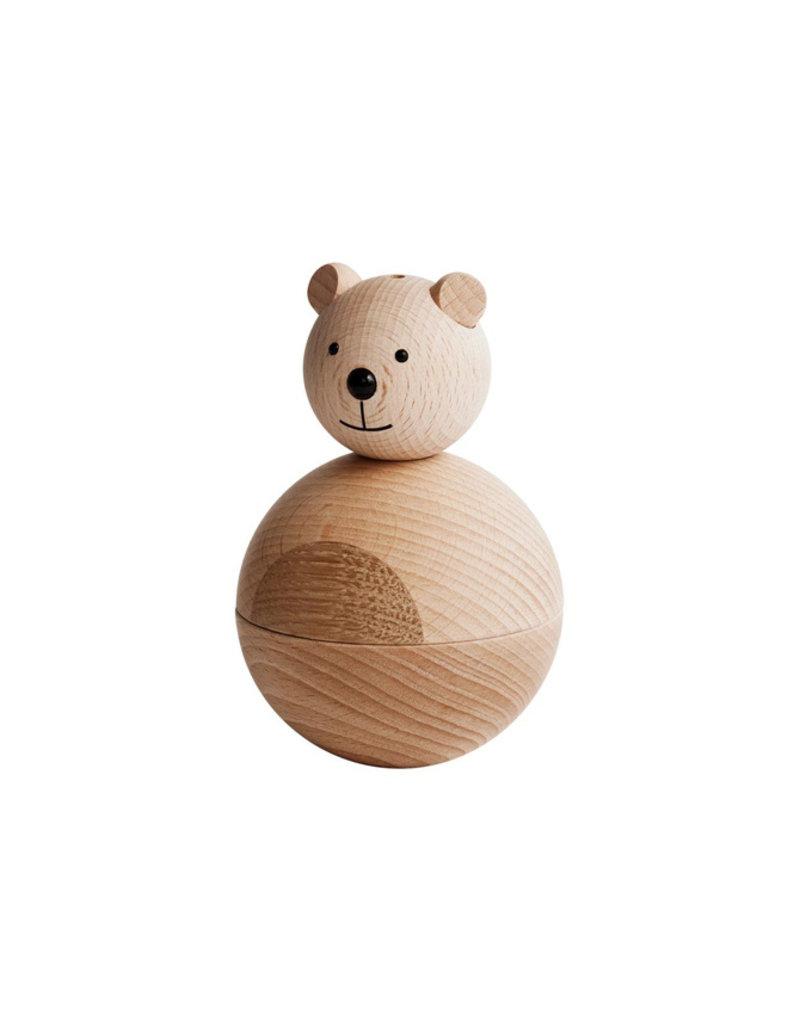 OYOY Wooden bear | natural