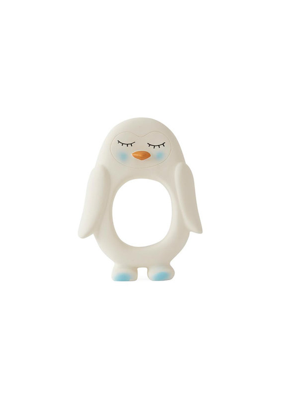 OYOY Bijtring pinguïn | wit