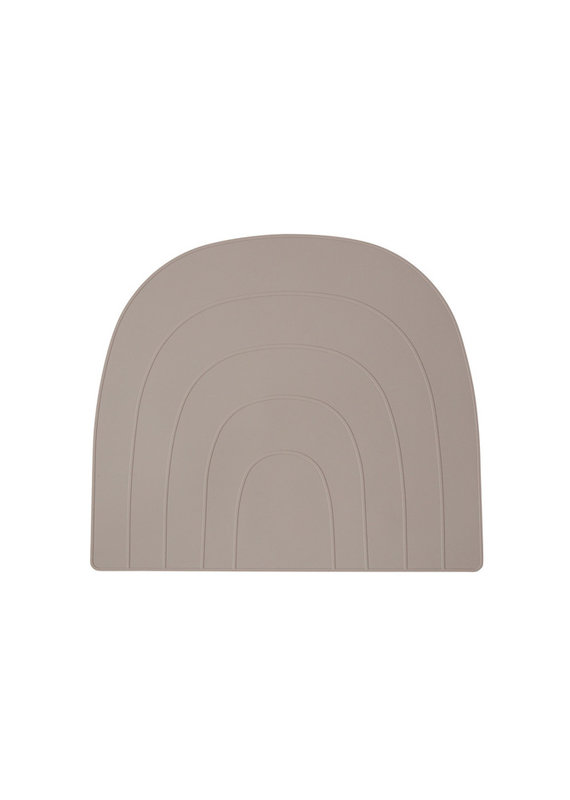 OYOY Placemat rainbow   Clay