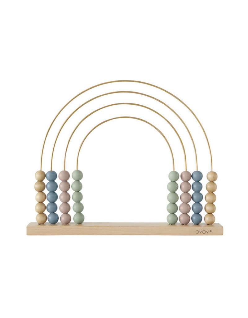 OYOY Houten telraam | Abacus rainbow