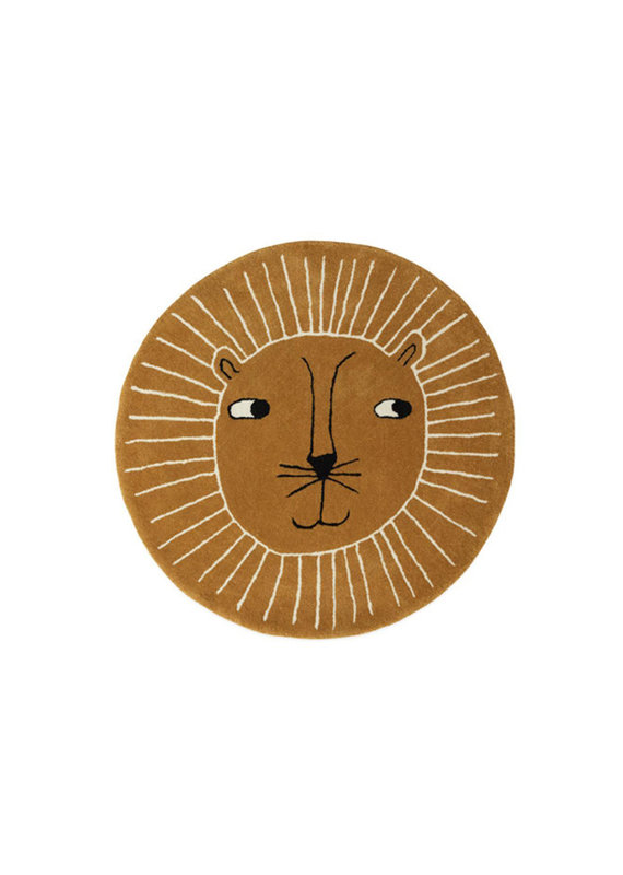 OYOY Vloerkleed   Leeuw