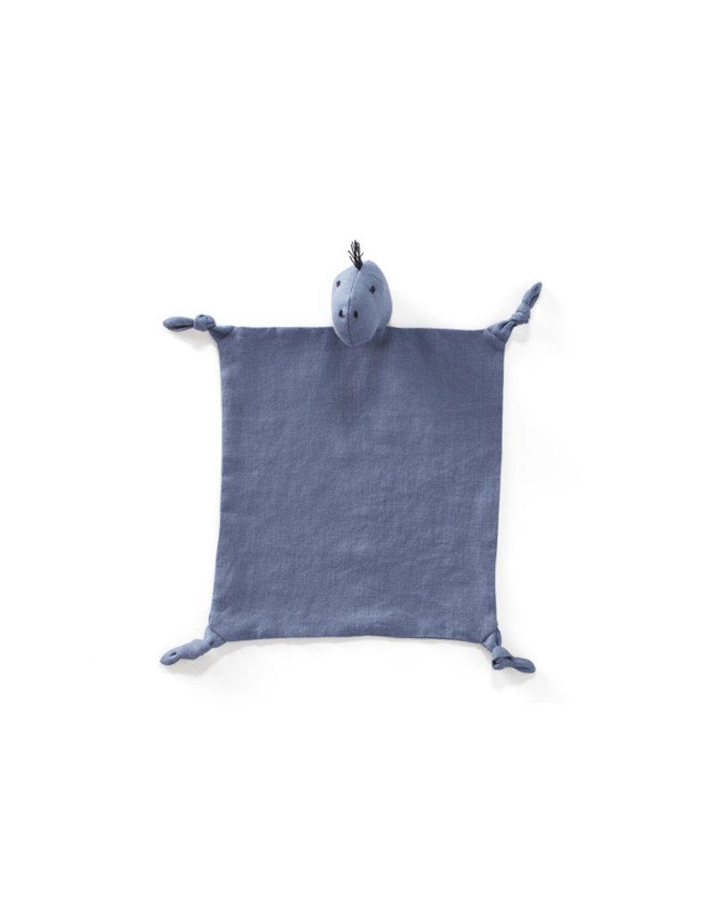 Kid's Concept Knuffeldoekje | Dino blauw