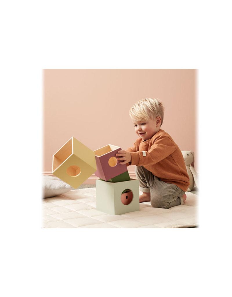 Kid's Concept Houten stapelblokken | Edvin