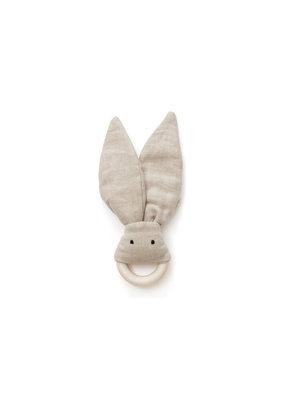 Kid's Concept Bijtring linnen | beige