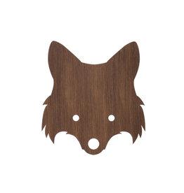 Ferm Living Wandlamp Fox | Smoked oak