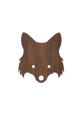 Ferm Living Wandlamp Fox | Smoked oak