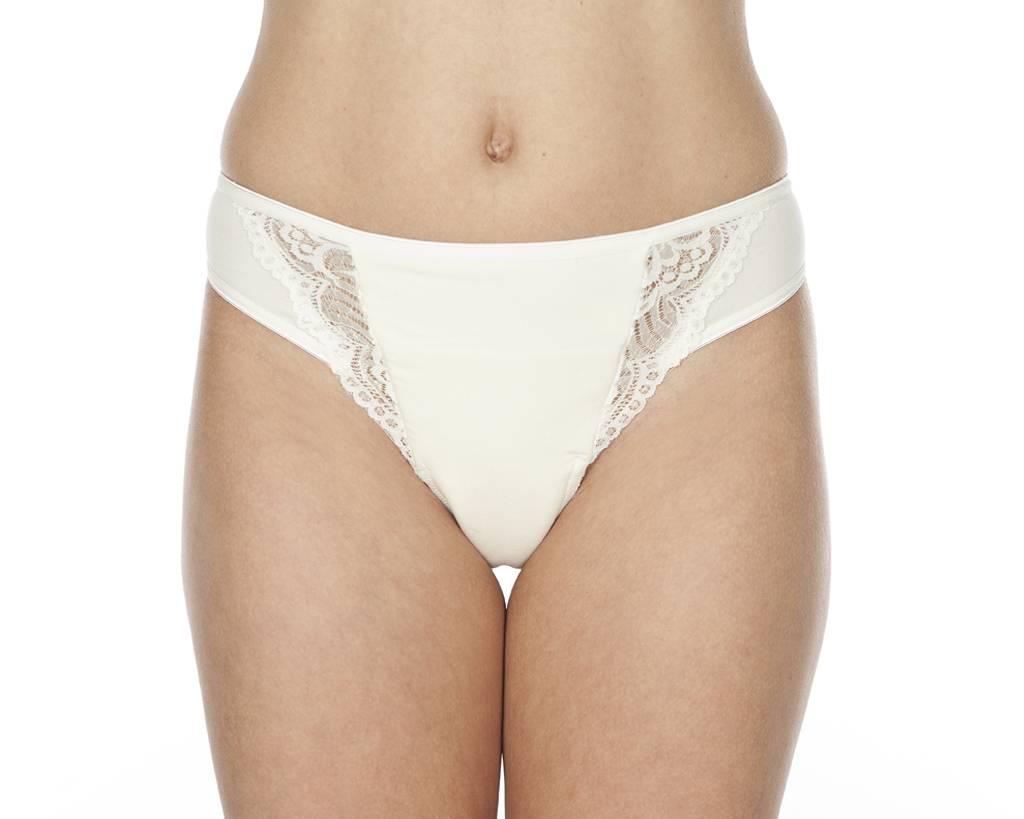 Swaens Bamboo Underwear String ivory set of 2