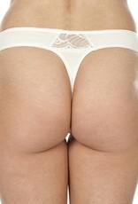 Swaens Bamboo Underwear Thong Ivory
