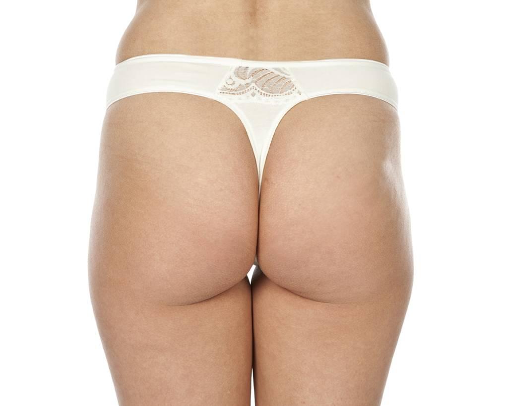 Swaens Bamboo Underwear String Elfenbein