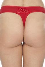 Swaens Bamboo Underwear String Rot