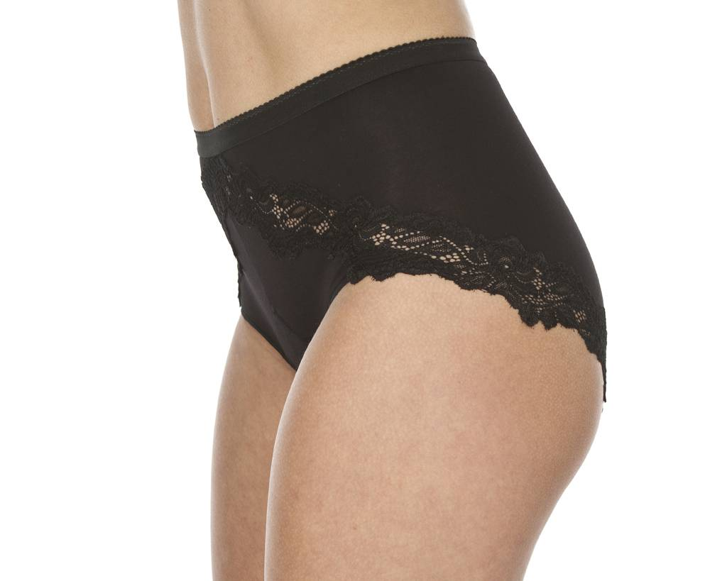Swaens Bamboo Underwear Taille Zwart