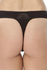 Swaens Bamboo Underwear String Schwarz - 3 Stück