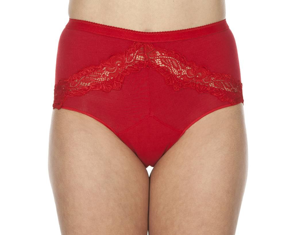 Swaens Bamboo Underwear Taille Rot - 3 Stück