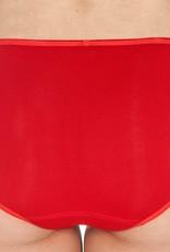 Swaens Bamboo Underwear Midi Rood  set van 3