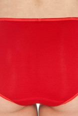 Swaens Bamboo Underwear Midi Rot - 3 Stück