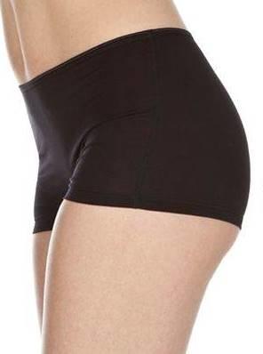 Swaens Bamboo Underwear  Mädchen-Boxer Schwarz