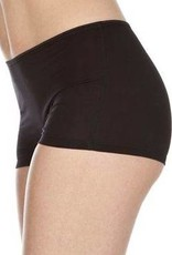 Swaens Bamboo Underwear Mädchen-Boxer - Schwarz - 5 Stück