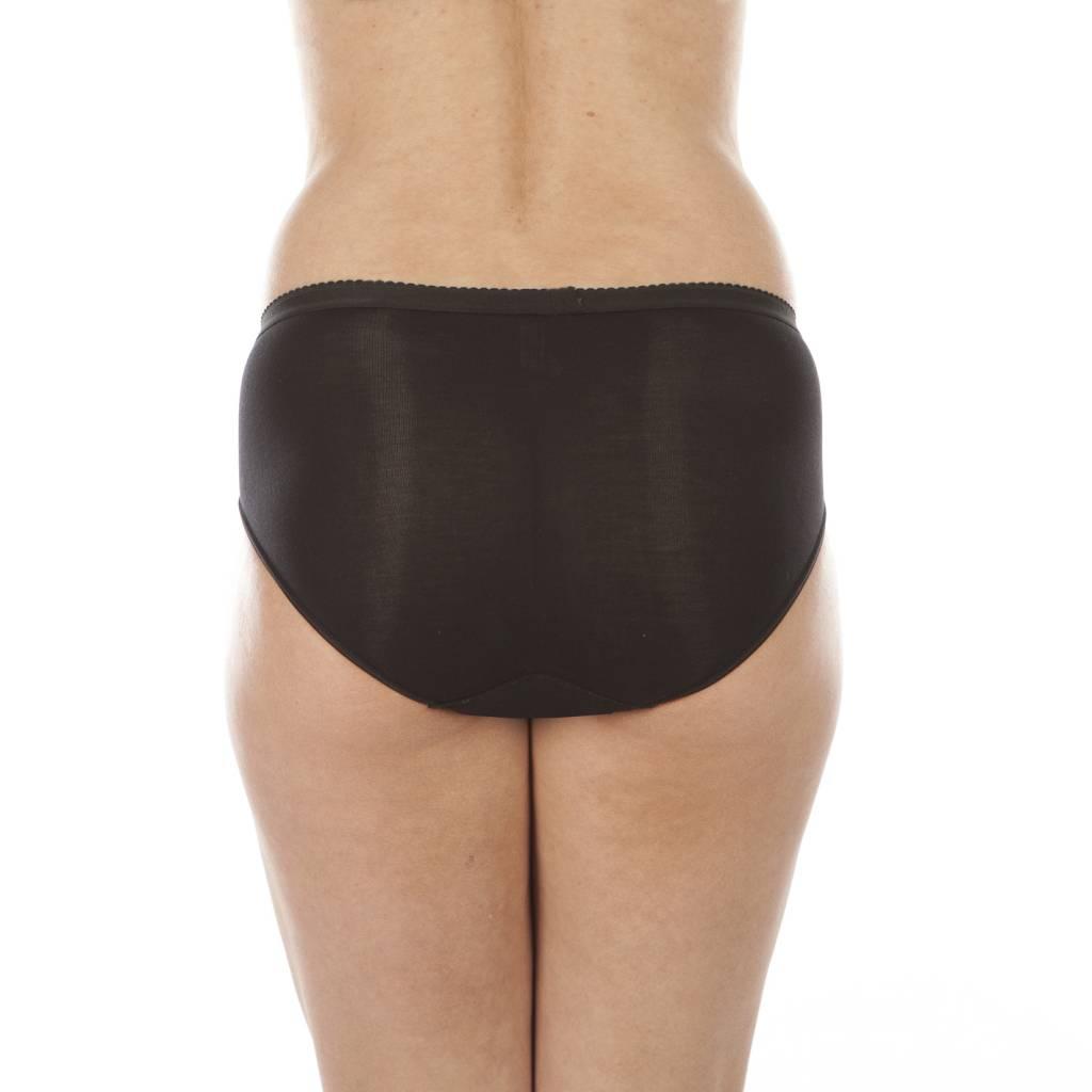 Swaens Bamboo Underwear Basic Ultra Schwarz