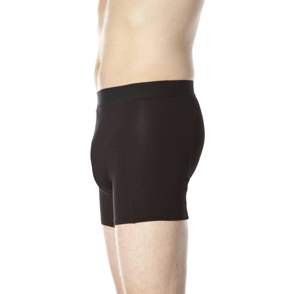Swaens Bamboo Underwear Boxer Black - male - set of 3