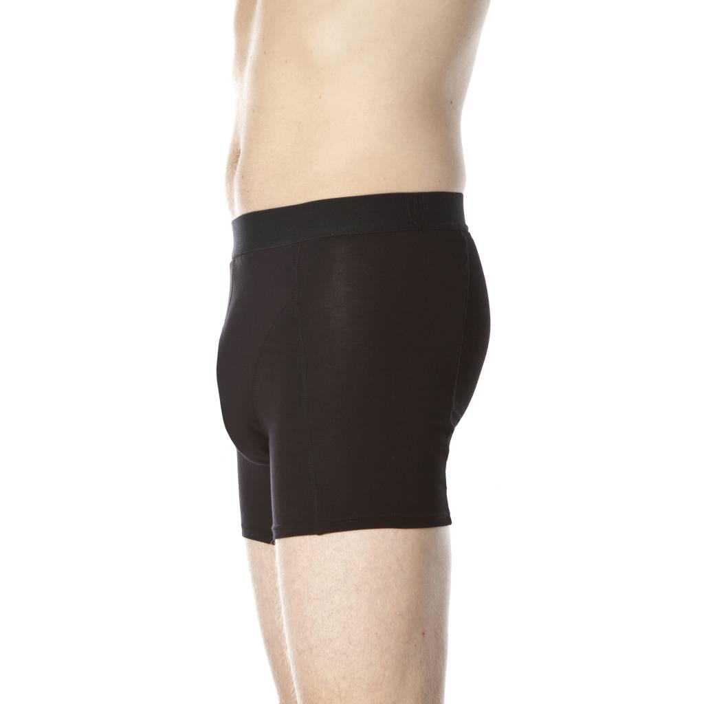 Swaens Bamboo Underwear Herren-boxer Schwarz - 3 Stück