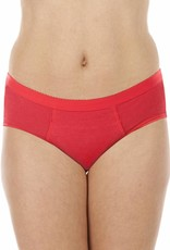 Swaens Bamboo Underwear Basic Ultra Rot - 5 Stück