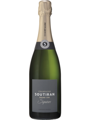 Champaqgne Soutrian Champagne Signature Brut Grand Cru