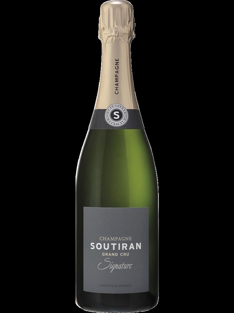 Champaqgne Soutrian Champagne Signature Brut Grand Cru - Doppel Magnum