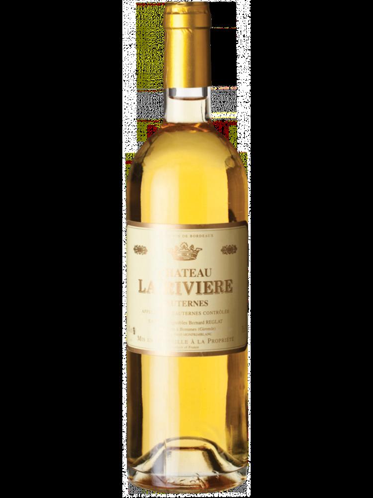 Château la Rivière Château La Rivière Sauternes AC 2014 (0,375 L)