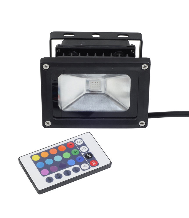 LED Bouwlamp RGB - 10 Watt