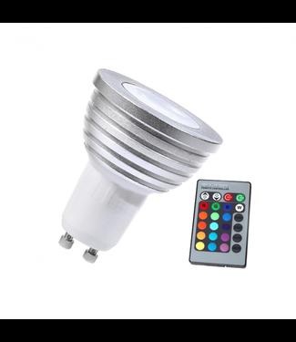 LED Spot RGB - 3 Watt - GU10