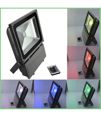 LED Bouwlamp RGB - 100 Watt