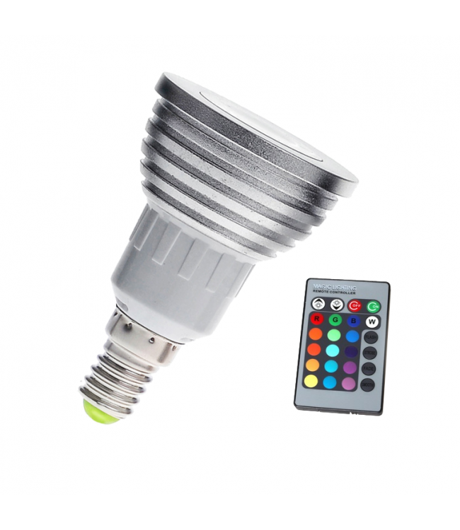 LED Spot RGB - 3 Watt - E14