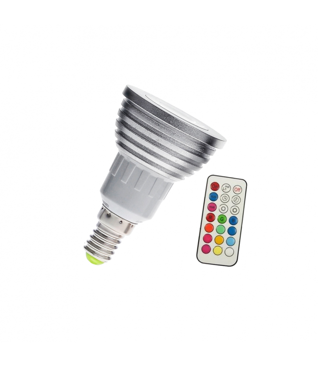 LED Spot RGB - 5 Watt - E14