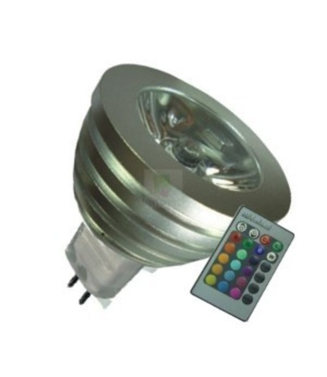 LED Spot RGB - 3 Watt - MR16