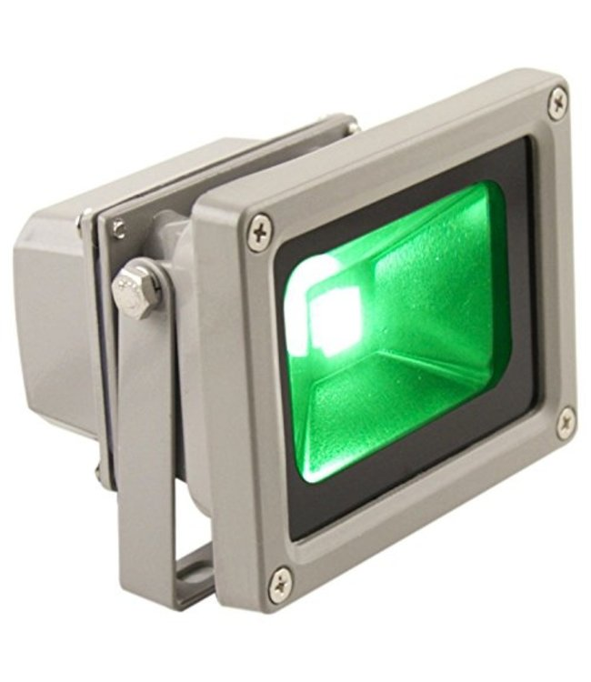 LED Bouwlamp Groen  - 10 Watt