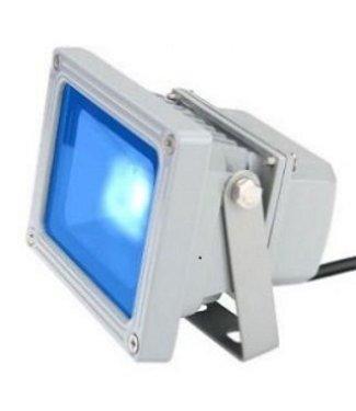 LED Bouwlamp Blauw  - 10 Watt