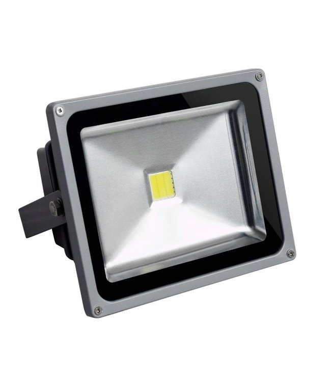 LED Bouwlamp Puur Wit - 20 Watt