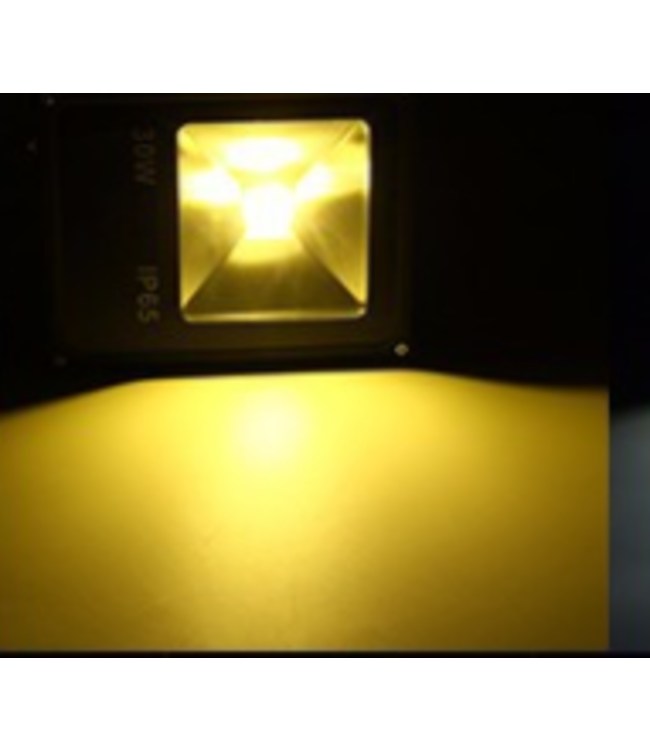 LED Bouwlamp Geel - 30 Watt