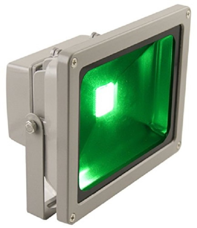 LED Bouwlamp Groen- 50 Watt