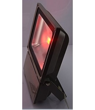 LED Bouwlamp Rood - 100 Watt