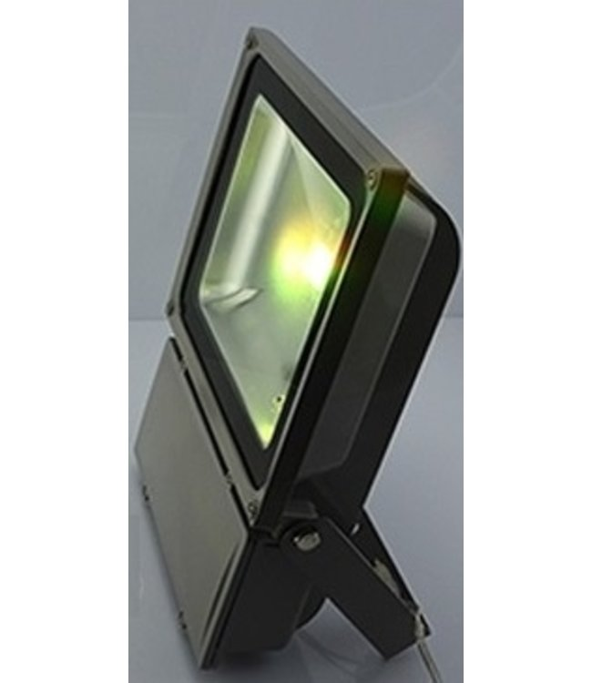 LED Bouwlamp Geel - 100 Watt