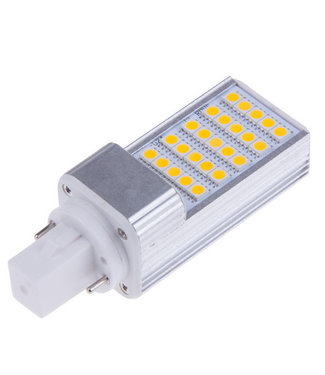 LED PL Lamp Puur Wit - 5 Watt - G24