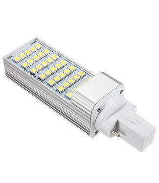 LED PL Lamp Puur Wit - 6 Watt - G24
