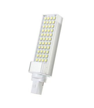 LED PL Lamp Puur Wit - 9 Watt - G24