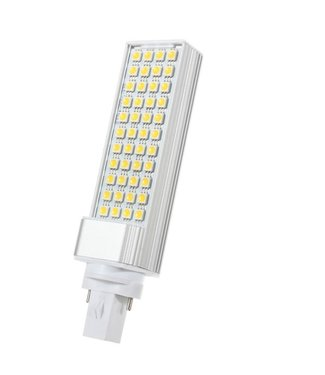LED PL Lamp Puur Wit - 12 Watt - G24