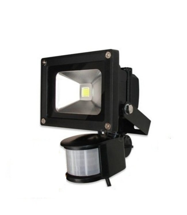 LED Bouwlamp Koel Wit - 10 Watt  - Sensor